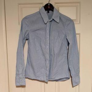 Jacob Blue & White Button Down Shirt